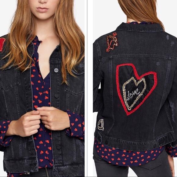 Sanctuary Jackets & Blazers - NWT | Sanctuary Heartbreaker Denim Jacket